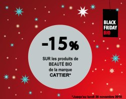 BLACK FRIDAY BIO COSMETIQUES BIO CATTIER