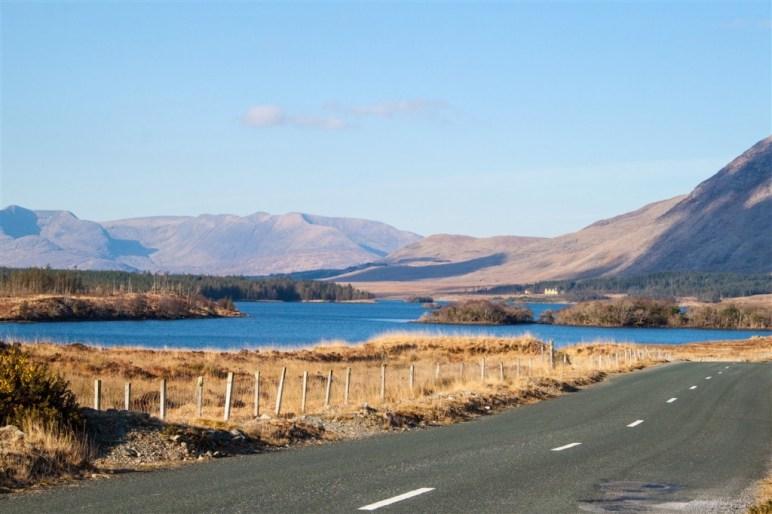 Lough Inagh - Connemara - Comté de Galway - irlande