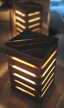 Eco Design Luminaires Et Meubles En Palettes Esprit