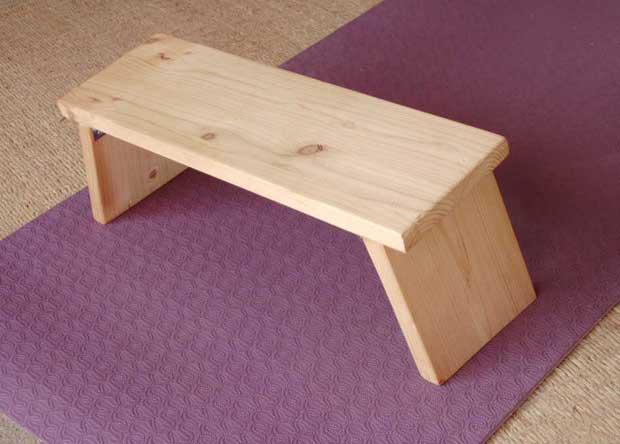 diy banc de meditation pliable