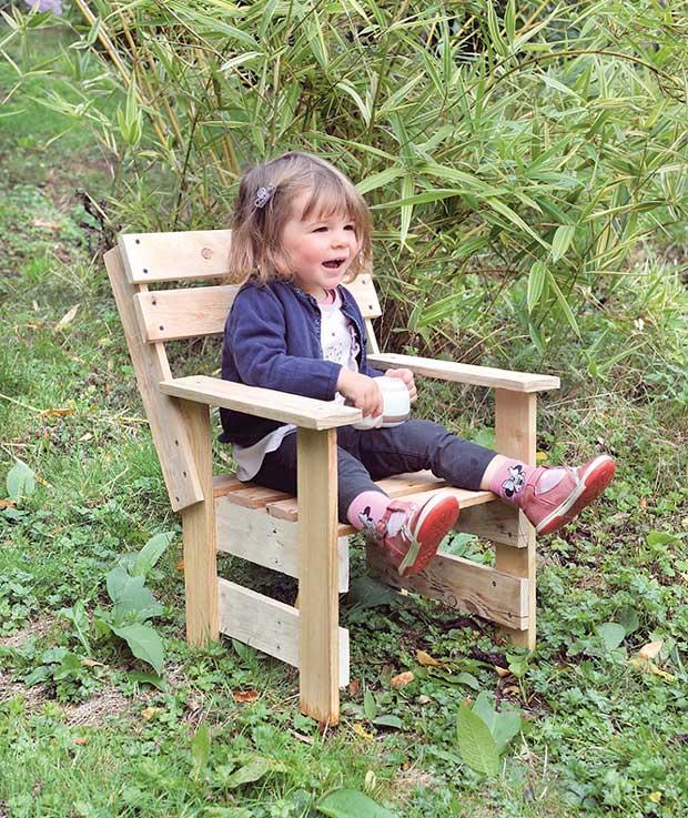jardin fauteuil enfant a fabriquer