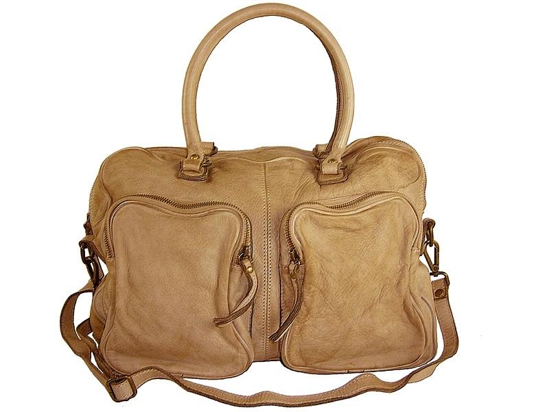 leeds la frange possession sac cuir fauve