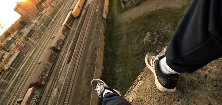 Shoes Sneakers Sweat Pants Railroad  - Free-Photos / Pixabay