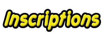 INSCRIPTIONS COURSES