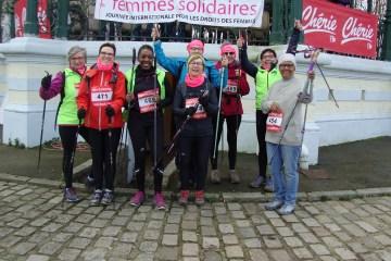 MARCHE NORDIQUE : journée internationale de la Femme