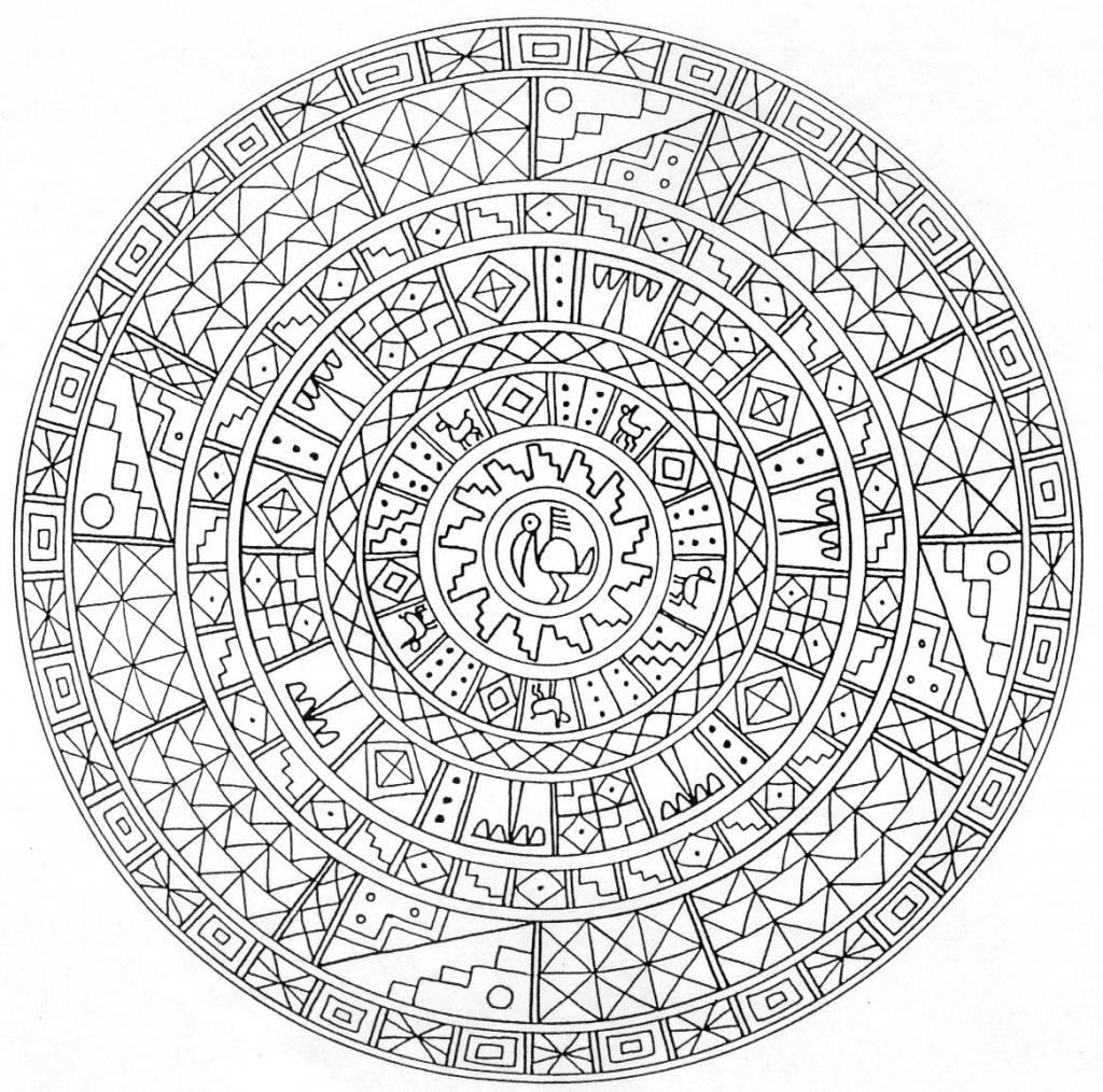 Mandalas Et Coloriages Abstraits Imprimables Pour Soulager Le Stress Et Aider A Mediter