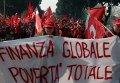 Centenas de milhares de pessoas manifestaram-se em Roma contra a política de Berlusconi