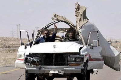 Os duros combates que atravessaram a Líbia nos últimos meses estão a atingir a fase decisiva com a chegada dos rebeldes à capital.
