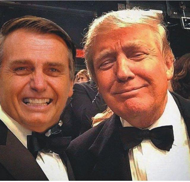 Resultado de imagen para donald trump y jair bolsonaro
