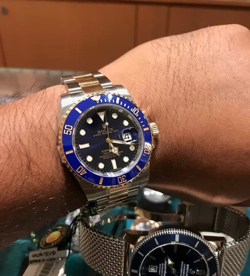 Rolex Submariner No More Scratches