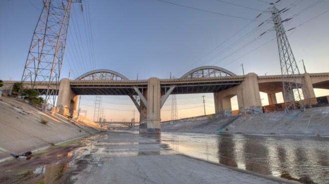 Sixth Street Bridge Demolished In Downtown LA