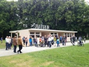"""""""Sanatorium"""", Pedro Reyes. Documenta 13. Fotografía tomada de: www.blog.pedroreyes.ne"""