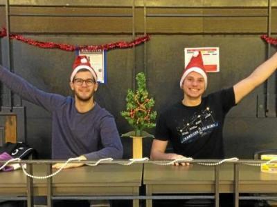 Les handballeurs sur les terrains, même à Noël