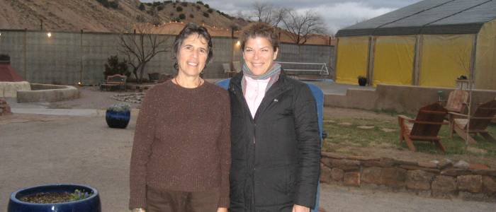 Natalie Goldberg and Debbie Merion