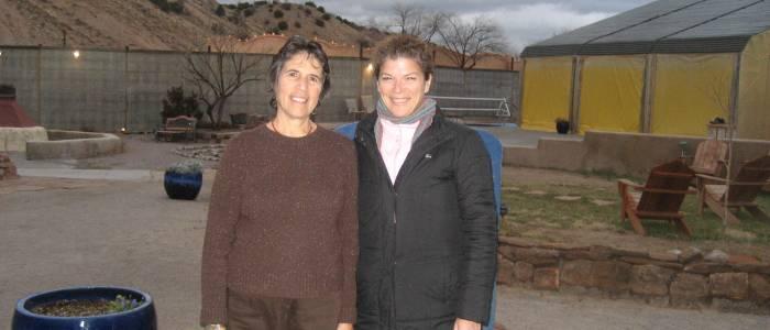 Natalie Goldberg and Debbie Merion