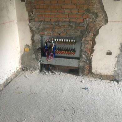 Collettore impianto riscaldamento pavimento