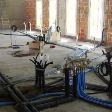 Distribuzione elettrica e idrico-sanitaria