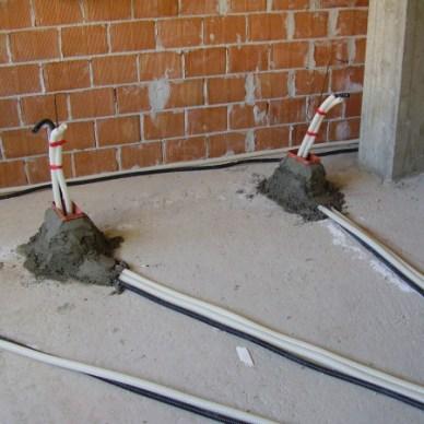 Distribuzione elettrica a pavimento