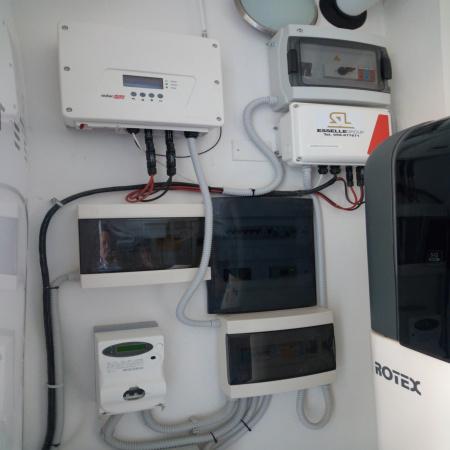 Quadri elettrici per gruppo di accumulo impianto fotovoltaico
