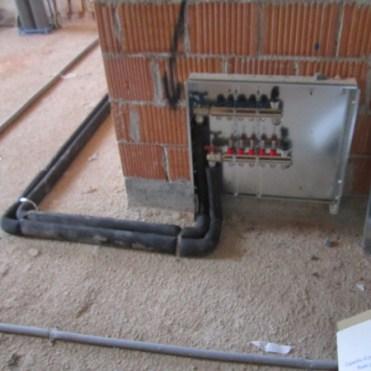 collettore impianto di riscaldamento a pavimento