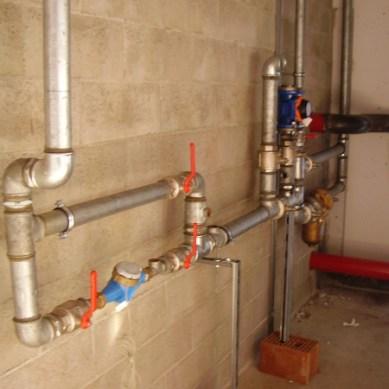 distribuzione idrica in centrale termica