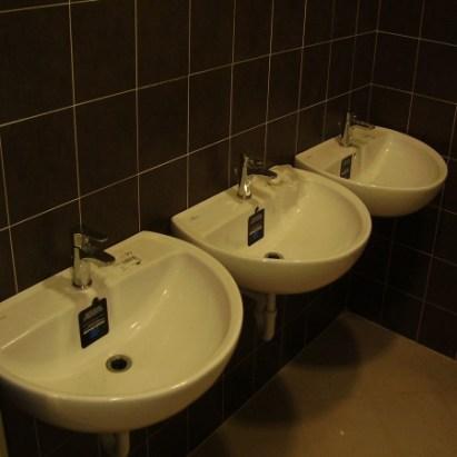 impianto idrosanitario, lavandini sanitari