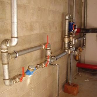 impianto idraulico civile