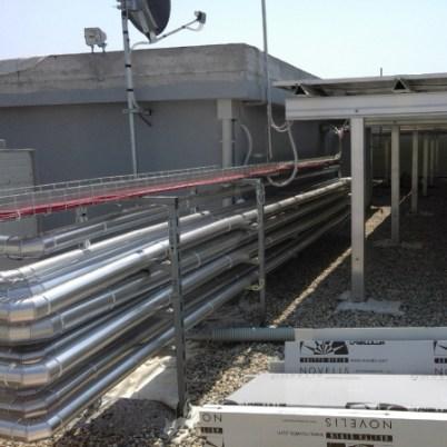 impianto trattamento aria industriale