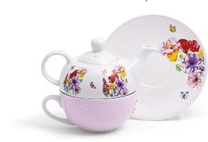 tisaniera bone china