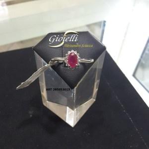 rosetta rubino e diamanti