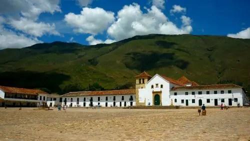 Plaza Mayor em Villa de Leyva