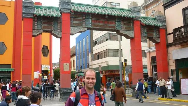 Portada Monumental - Barrio Chino de Lima