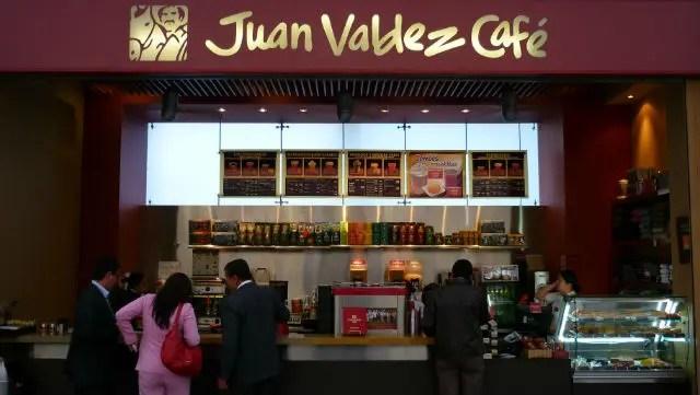 Café Juan Valdez - Bogotá (Foto: Esse Mundo É Nosso)