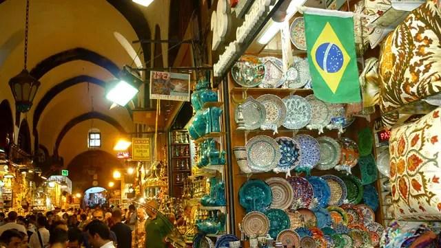 Viajar para a Turquia - Bazar de Especiarias - Istambul (Foto: Esse Mundo É Nosso)