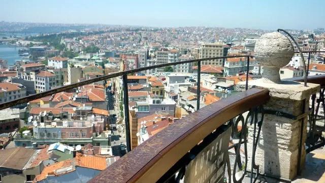 Deck da Torre de Galata - Istambul (Foto: Esse Mundo É Nosso)