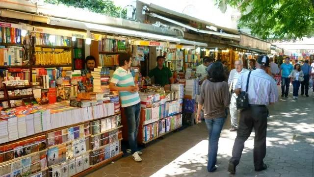 Bazar de Livros - Istambul (Foto: Esse Mundo É Nosso)