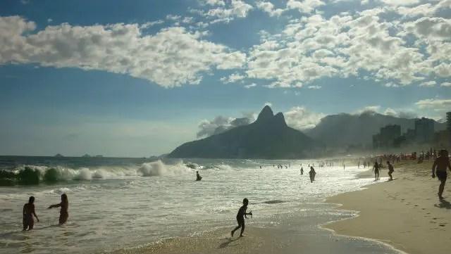 Praia de Ipanema, Rio de Janeiro (Foto: Esse Mundo É Nosso)