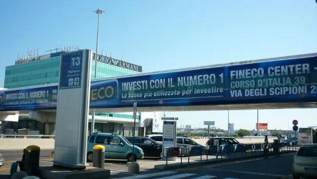Aeroporto Roma Fiumicino (Foto: Esse Mundo É Nosso)