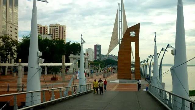 Malecón 2000 - Guayaquil - Equador (Foto: Esse Mundo É Nosso)