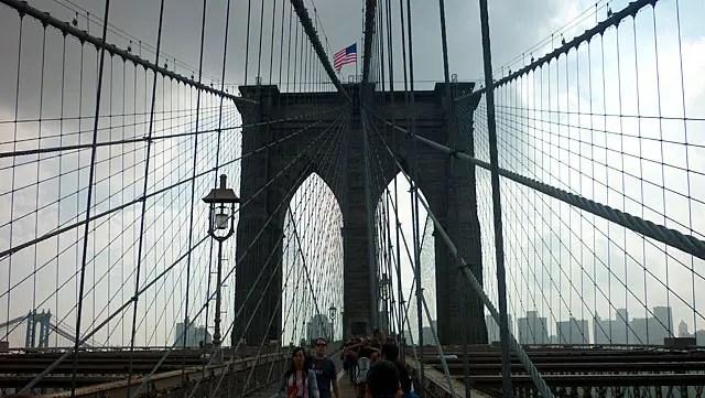 Ponte do Brooklyn em Nova York (Foto: Esse Mundo é Nosso)