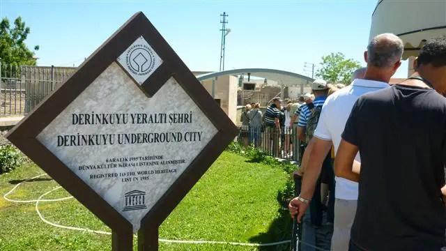 Cidade subterrânea de Derinkuyu, Capadócia - Turquia (Foto: Esse Mundo É Nosso)