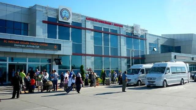 Aeroporto de Kayseri (Foto: Esse Mundo É Nosso)