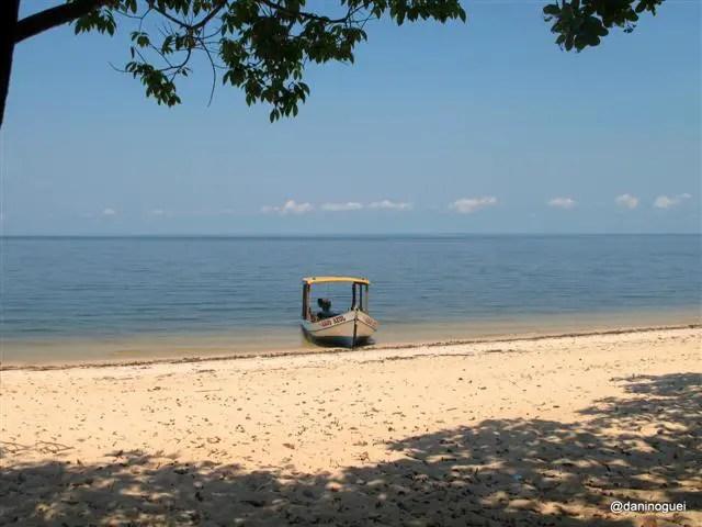 Ponta de Muretá - só aqui foi possível ter uma praia assim só para mim