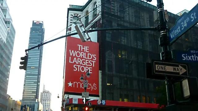 Loja da Macys em Nova York (Foto: Esse Mundo é Nosso)