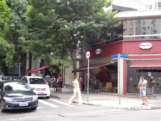 Rua Oscar Freire (Foto: Esse Mundo É Nosso)