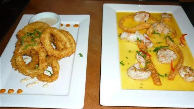 Anillos de calamares e kantuta - Suri Ceviche Bar (Foto: Esse Mundo É Nosso)