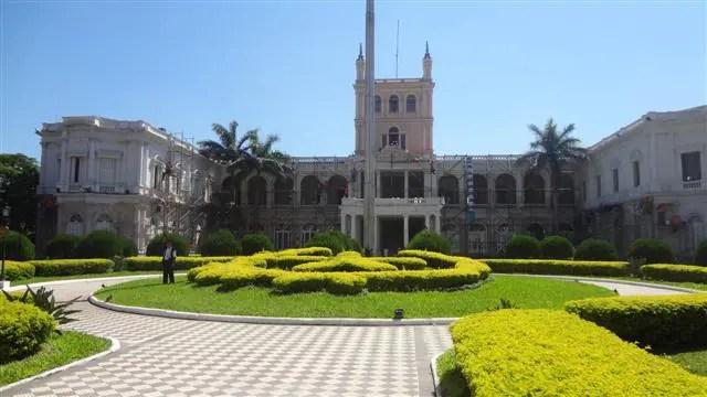 Palacio de los Lopes - Assunção, Paraguai (Foto: Daniel Bazetto)
