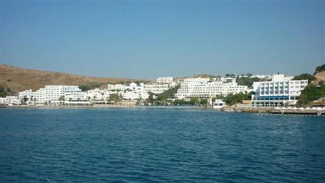 Turquia à Grécia de Barco - Bodrum, Turquia (Foto: Esse Mundo É Nosso)