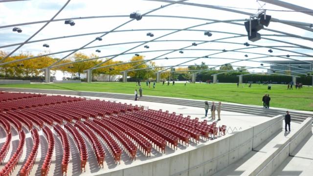 Jay Pritzker Pavilion - Millenium Park - Chicago (Foto: Esse Mundo é Nosso)