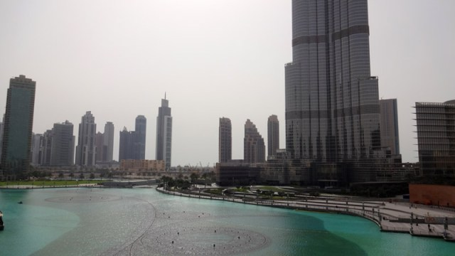 Conexão em Dubai: Downtown Dubai (Foto: Esse Mundo É Nosso)